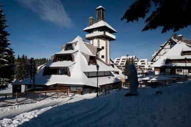 Hotel Angella Kopaonik zima i sneg